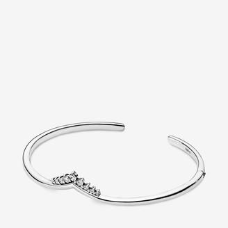Pandora Tiara Wishbone Open Bangle