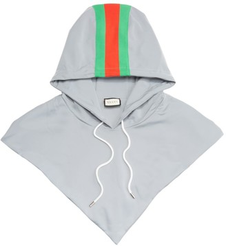 Gucci Reflective G Stripe Print Hood