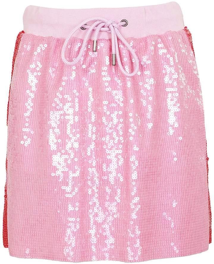 Alberta Ferretti Side Stripe Mini Skirt