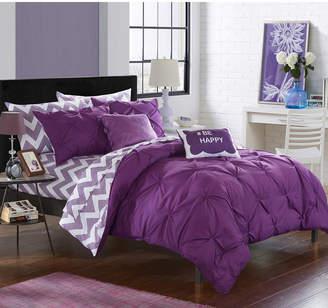 Chic Home Louisville 9-Pc Full Comforter Set Bedding