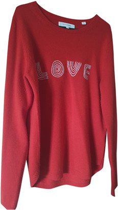 Chinti and Parker Red Cashmere Knitwear