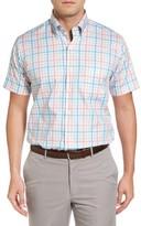 Peter Millar Men's Summer Melange Check Sport Shirt