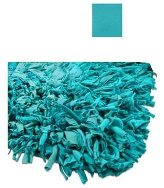 "Calypso IXI Jersey Aqua Area Rug IXI Rug Size: Rectangle 3'6"" x 5'6"""