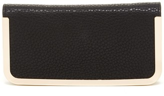 Urban Expressions Trenton Vegan Leather Metal Edge Wallet