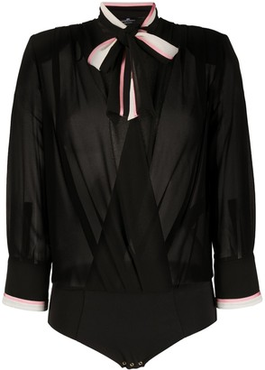 Elisabetta Franchi Bow Detail Body