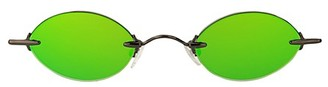 Christopher Kane 43MM Oval Core Sunglasses