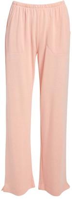 Fresh Produce Women's Casual Pants BLH - Blush Side-Pocket Wide-Leg Pants - Women