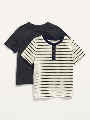 Old Navy 2-Pack Short-Sleeve Henley for Toddler Boys