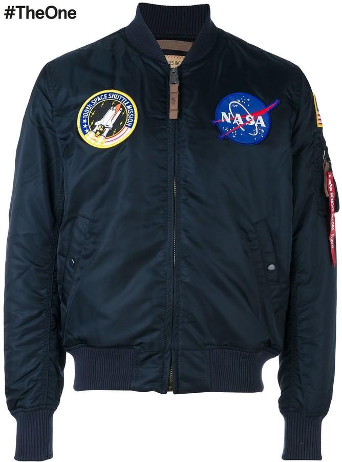 6471ec299 'NASA MA-1' bomber jacket