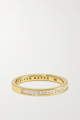 Jennifer Meyer 18-karat Gold Diamond Ring - 6