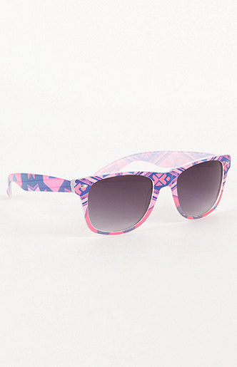 With Love From CA Tribal Print Sunglasses