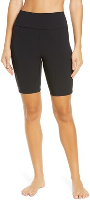 Zella Urban High Waist Hybrid Bike Shorts