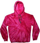 Tie-Dyed TDUK Mens Tie Dye Hooded Sweatshirt / Hoodie (L)