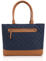 George Quilted Tote Bag