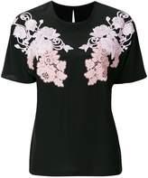 Dolce & Gabbana floral appliqué T-shirt