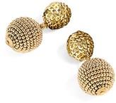 J.Crew Women's Sequin & Bead Ball-Drop Earrings