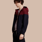 Burberry Colour Block Technical Jacket With Hood