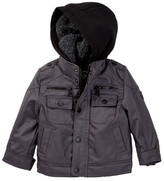 Urban Republic Ballistic Poly Faux Shearling Lined Jacket (Baby Boys)