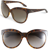 Dior Rounded Cat's Eye Sunglasses