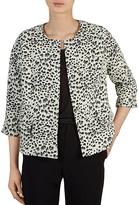 Gerard Darel Vreeland Leopard Print Jacket