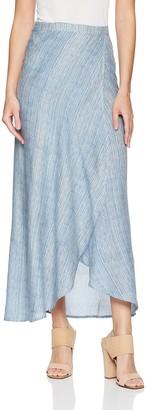 En Creme Women's Full Wrap Skirt