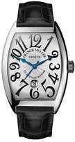 Franck Muller Curvex Watch with Alligator Strap