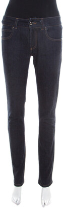 Gianfranco Ferre GF Indigo Dark Wash Denim Tapered Jeans S