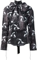 Marc Jacobs mouse print blouse