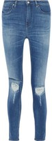 IRO Nevada Distressed High-Rise Skinny Jeans