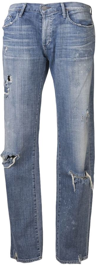 Gold Sign 'Mr. Right' jeans