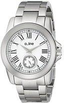 A Line a_line Women's AL-80021-22 Amare Analog Display Japanese Quartz Silver Watch