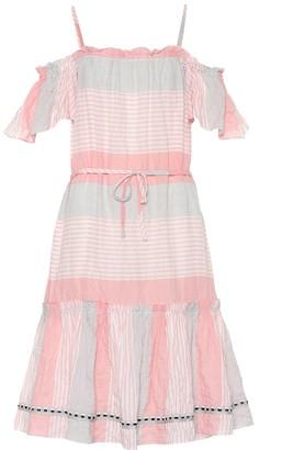 Lemlem Dera striped cotton-blend dress