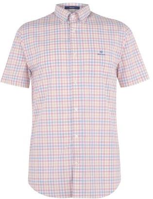 Gant Short Sleeve Check Shirt