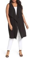 Sejour Plus Size Women's Duster Vest