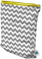 Bed Bath & Beyond Planet Wise Wet Bag in Grey Chevron