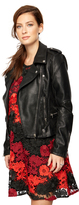 A Pea in the Pod Blank Nyc Faux Leather Faux Leather Maternity Jacket