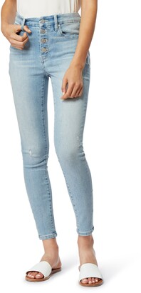 Habitual Eliza High Rise Exposed Button Jeans