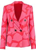 MSGM Printed Crepe Jacket