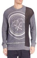 3.1 Phillip Lim Embroidered Long-Sleeve Sweatshirt