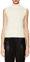 Diane von Furstenberg Wool Ribbed Sleeveless Sweater