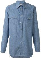 Marc Jacobs chambray shirt - men - Cotton - 48