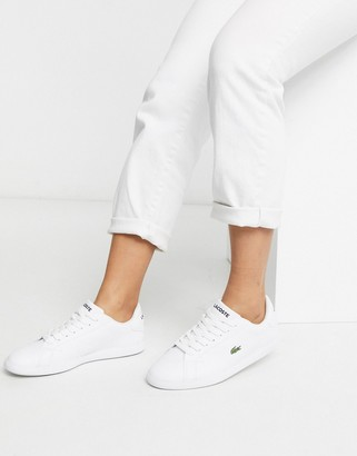 Lacoste Graduate BL 1 leather trainers in white