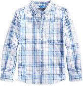 Tommy Hilfiger Little Boys' Ethan Plaid Button-Down Shirt