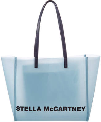 Stella McCartney Logo Small Clear Tote