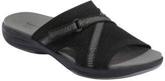 Earth Origins Saru Cassidy Knit Slide Sandal