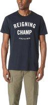 Reigning Champ Men's Ringspun Jersey Gym Logo Tee