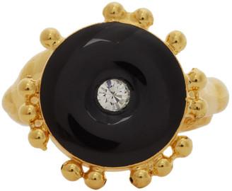 Marni Gold Metal Ring