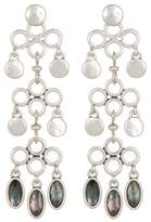 Lucky Brand Reversible Chandelier Earrings