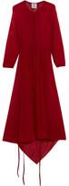 Vetements Stretch-jersey Midi Dress - Red