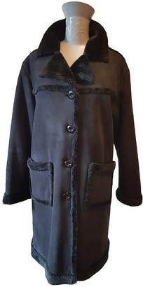 Prada Black Faux fur Coats
